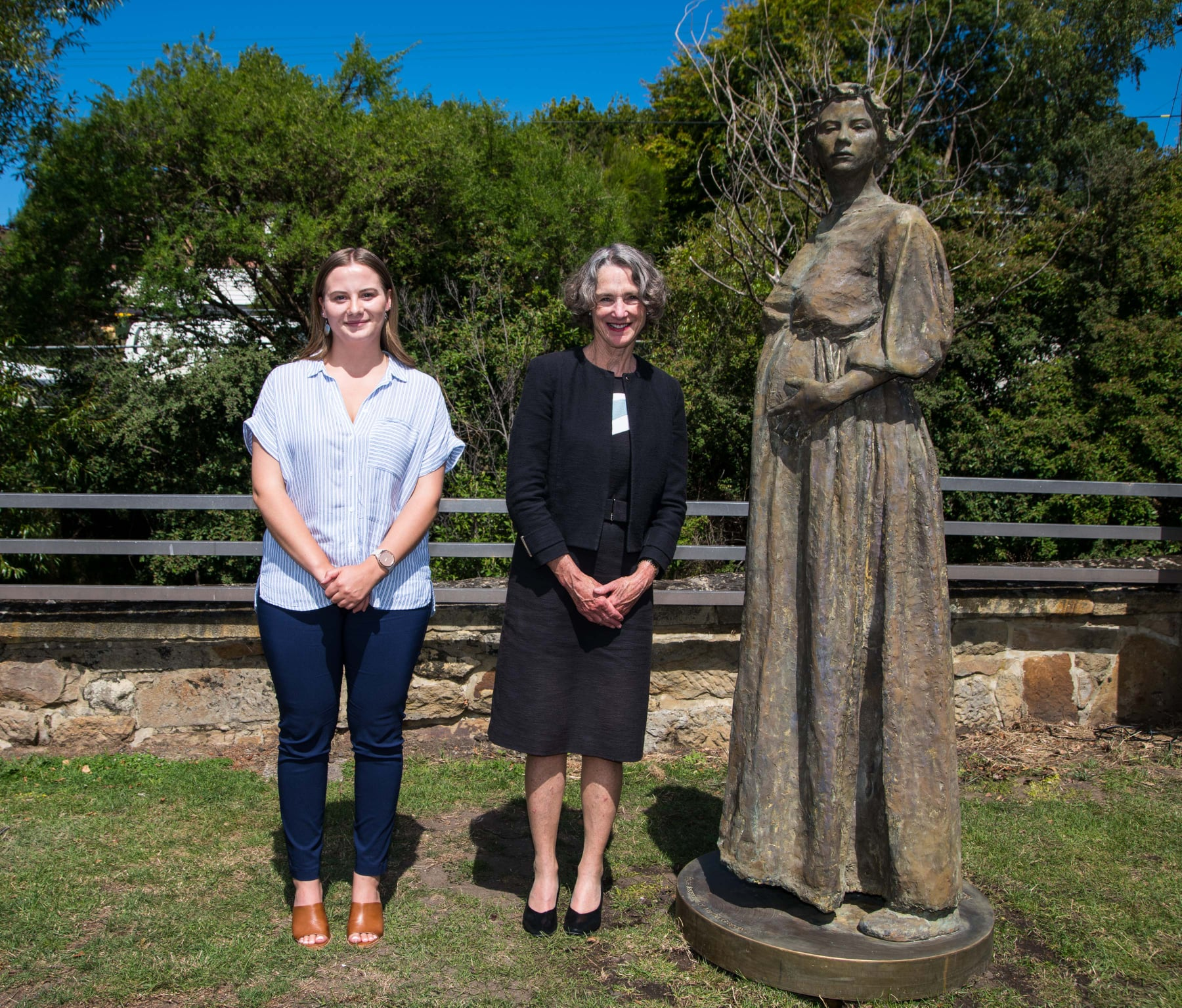 FTS Her Excellency and Brydie Pearce